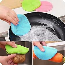 Dish Brush Silicone Antibacterial Soft Bristles Kitchen Household Cleaning Tools