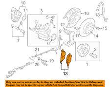 AUDI OEM 15-17 A3 Brake-Rear Pads 5Q0698451N