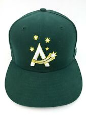 Australia World Baseball Classic Fitted Cap 7 3/4 Green On Field New Era 59Fifty