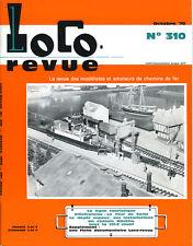 LOCO REVUE 301 1970, ADAPTATION 231 c JOUEF SUR CHÂSSIS MARKLIN