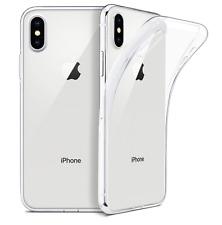 iPhone X / XS Crystal SOFT Case Transparent Clear Klar Ultra Slim dünn thin 0,33