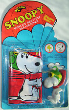 AVIVA SNOOPY PARATROOPER PARACHUTE FLYING ACE VINTAGE 1970s CARDED UNOPENED