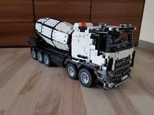 Bauanleitung instruction Betonmischer 42043 Eigenbau Unikat Moc Lego Technic