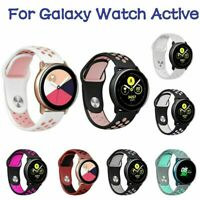 Silikon Sport Armbanduhr Band Strap Ersetzen für Samsung Galaxy Watch Aktiv Neu