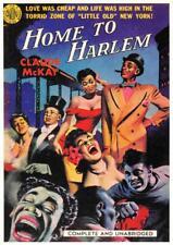 HOME TO HARLEM Black Americana 1951 Novel Book Cover Art 1995 Repro Postcard