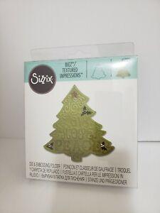 Sizzix 657370 Bigz Die with Bonus Textured Impressions, Christmas Tree #2