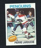 NM 1975 Topps #305 Pierre Larouche RC.