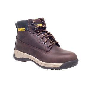 Dewalt Mason Boot, Safety Wide Fitting Steel Toe Cap in Brown, Size 8