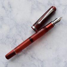 Noodlers Konrad Northern Pike Red Fountain Pen Flex Nib