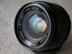 Vivitar (Kominar) 28mm f/2  FAST Auto Wide Angle lens For Olympus OM Mount