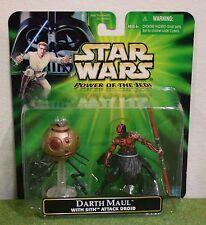Star Wars cardada potencia del Jedi Darth Maul Con Sith ataque Droid