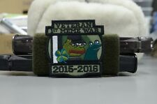First Meme War Veteran Patch, Pepe the frog Lord Kek from Kekistan
