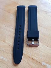 Invicta Pro Diver Curved Ends Watch Strap - Black 20mm