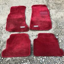 Nissan Skyline R31 RED Mats