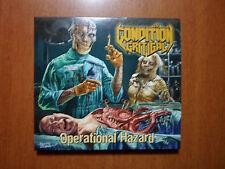 Condition Critical  - Operational Hazard Digipack US Old School Thrash Metal
