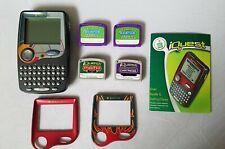 Leapfrog Quantum Leap Iquest Handheld Educational System And 4 Cartridges lot
