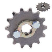 420 14T 17mm Front Chain Sprocket Gear Fit 50cc - 125cc Engine Pit Dirt Bike ATV