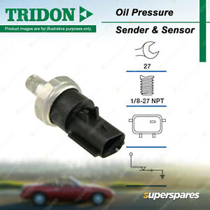 Tridon Oil Pressure Light Switch for Jeep Compass MK Patriot MK 2.4L