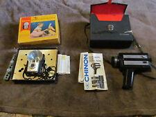 2 Fabulous Vintage Cameras - Kodak Brownie Starflash & Box & Chinon 753 Xl