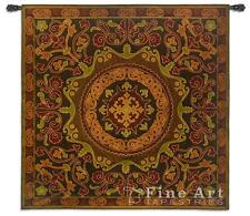 53x53 SUZANI RADIANCE Asian Tapestry Wall Hanging