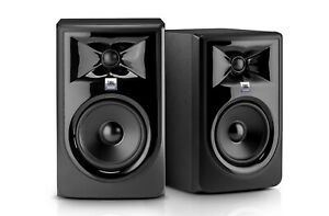 """JBL Professional 305p MKII 5"""" 2 Way Powered Studio Reference Monitor (2 pack)"""