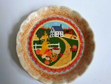 AVON Penny Carter 2005 Fall/Autumn Dish/Plate Home Decor Gift Thanksgiving Dish