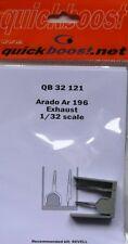 Quickboost 1/32 Arado Ar196 Exhaust for Revell Kit # 32121