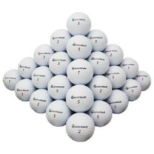 10 Dozen Taylor Made Assorted Grade B AAA Quality Recycled Used Golf Balls
