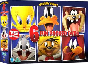 LOONEY TUNES - 75 CARTOONS Bugs Bunny, Road Runner, Daffy+ Region 4 New & Sealed