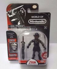 "World of Nintendo SHADOW LINK Exclusive Figure 4"" Legend of Zelda Series 2-1 MOC"