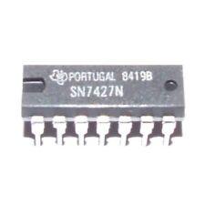 4 x SN7427N 3-INPUT POSITIVE-NOR GATES TI DIP-14 4pcs