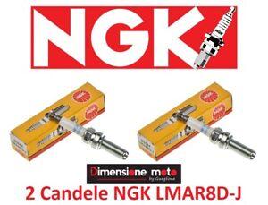 93444 - 2 Candele NGK LMAR8D-J per BMW R 1200 GS Adventure dal 2013 >2018