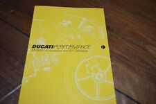 brochures flyer  DUCATI performance MH900e accessoires and kit  catalogue