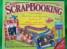 Easy ScrapBooking 2005 Calendar (Decorative borders & elements) ~ Open Box
