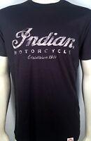 Indian Motorcycle 1901 Cursive Logo American Biker Company Mens T Shirt IMC1-TEE
