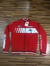 New With Tags Castelli Gran Turismo Red Triestina Cycle Track Sweatshirt Jacket