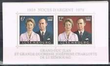 Luxemburg postfris 1978 MNH block 11 - Jean et Charlotte (S0154)