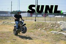 MASSIMO Warrior MB200 SUPERSIZED 196cc MINI BIKE - Motorcycle Outdoor Sports