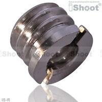 "1/4""-3/8"" Copper Adapter Screw Nut for Tripod Monopod Ball Head Light Stand"