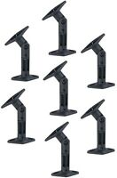 7 PACK UNIVERSAL CEILING WALL SATELLITE SPEAKER MOUNT BRACKETS HOME THEATER BOSE