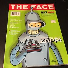 VINTAGE ART/FASHION MAGAZINE THE FACE TV SPECIAL OCT 99 FUTURAMA MATT GROENING