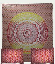 Oriental Mandala Bed Pillowcases Quilt Duvet Cover Set Queen Size Quilt Cover