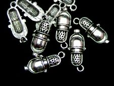 10 Pcs - Tibetan Silver Vintage Microphone Charms Music Jewellery 27mm - Z145
