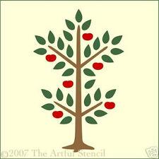 APPLE TREE STENCIL - FOLK ART - The Artful Stencil