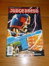 JUDGE DREDD THE MEGAZINE Comic - Series 1 - No 10 - Date 07/1991 - UK Comic