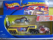 HOT WHEELS PAVEMENT POUNDER MOTO SCORCHIN'SCOOTER BORDEAUX 2001MATTEL  #47039