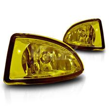 For 2004-2005 Honda Civic 2 / 4 Door Yellow Lens Chrome Housing Fog Lights Lamps