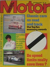 Motor magazine 6/10/1979 featuring VW Scirocco road test, Talbot Horizon