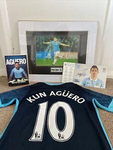 Sergio Aguero Bundle- Signed Memerobillia