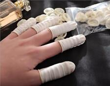 50X Disposable Anti Static Rubber Latex Finger Cots Fingertips Protector Gloves